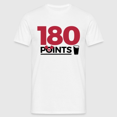 180pointspintspounds2 - Men's T-Shirt