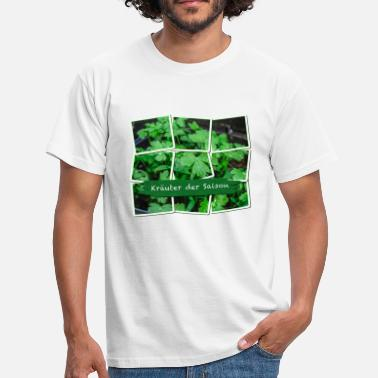 Herb Herbs of the season - Men's T-Shirt