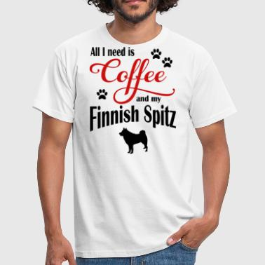 Finnish Spitz Finnish Spitz Coffee - Men's T-Shirt