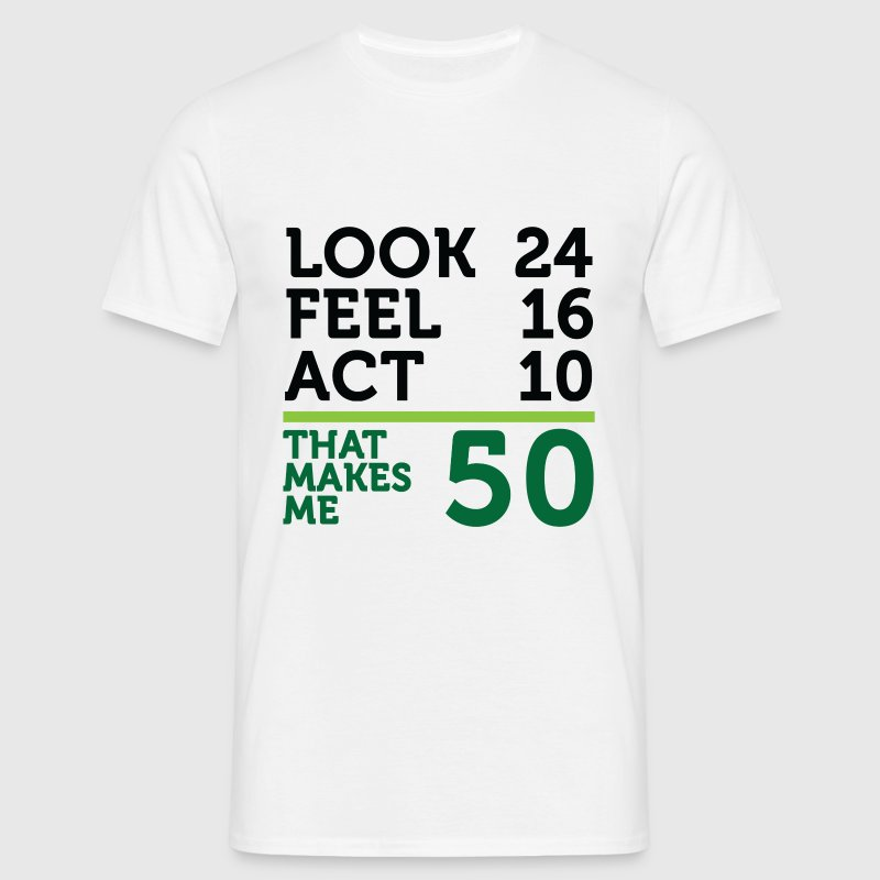 I am 50 years old, but .... - Men's T-Shirt