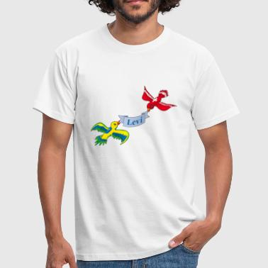 Levy Birds Levi - Men's T-Shirt