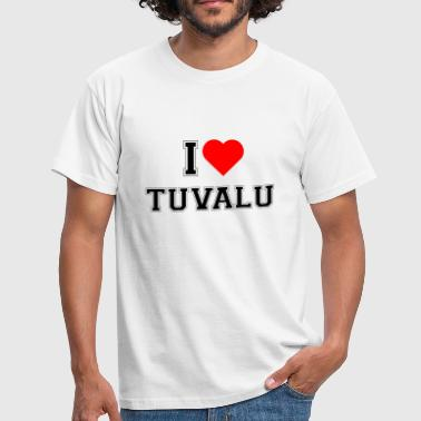 J'adore Tuvalu - T-shirt Homme