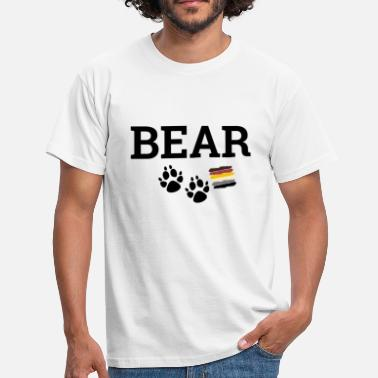 Gay Logo Gay Bear - Mannen T-shirt