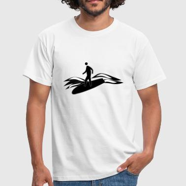 Surfing Surfboard Surf surfboard surf surfing wind surfer15 - Men's T-Shirt