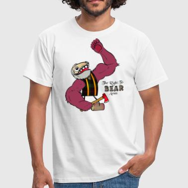 The Right to Bear Arms - Men's T-Shirt