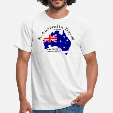 988a27733 Australian National Flag Australia Day, holiday, Australian flag -  Men's. Men's T-Shirt