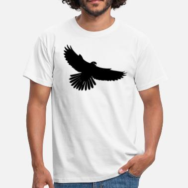 Bird Of Prey Black bird - Men's T-Shirt