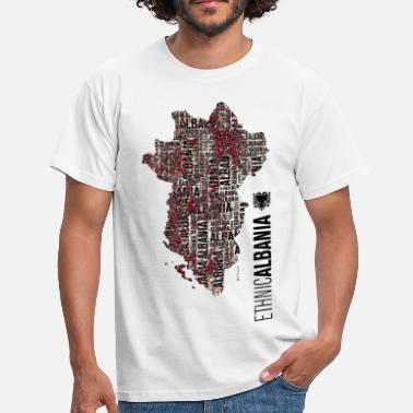 Albania Ethnic ALBANIA - Men's T-Shirt
