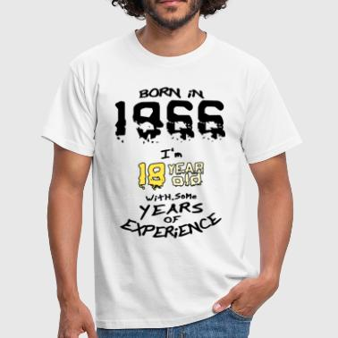 born in 1966 - Men's T-Shirt