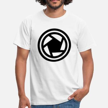 Camera Icon Camera Shutter Lens Icon - Men's T-Shirt