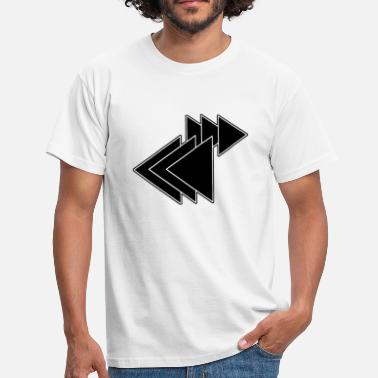 Triangle Shape Shapes triangles - Men's T-Shirt