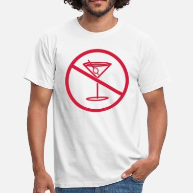 Monster zone forbidden no drink thirst party celebrate alkoho - Men's T-Shirt