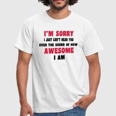 Awesome - Camiseta hombre