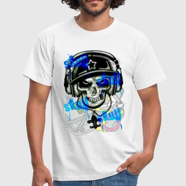 SKULL GRAFFITI - Men's T-Shirt