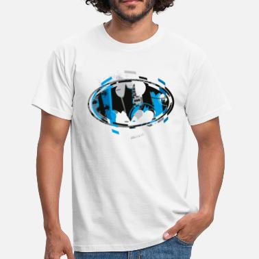 Dark Knight Batman Logo Blue Männer T-Shirt - Männer T-Shirt
