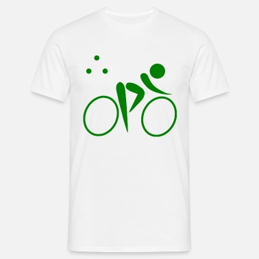Biking Triathlon Triathlon bike bike - Men's T-Shirt