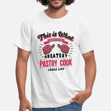 Worlds Greatest Cook pastry cook worlds greatest looks like - Men's T-Shirt