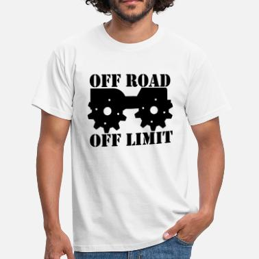 Off-road Off Road Off Limit - Men's T-Shirt