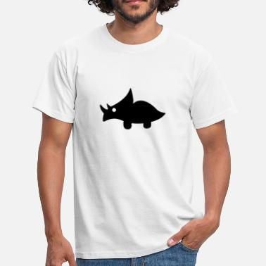 Stoned Baby Sweet baby triceratops - Men's T-Shirt
