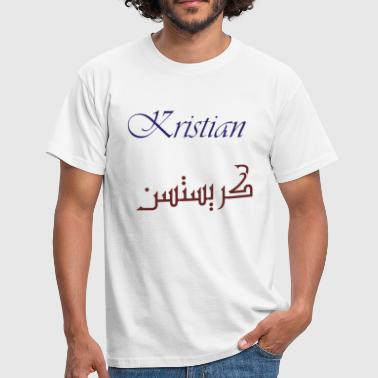 Kristian in Persian - Men's T-Shirt
