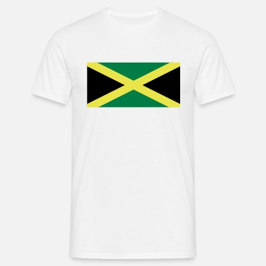 Jamaican Jamaican Flag - Men's T-Shirt