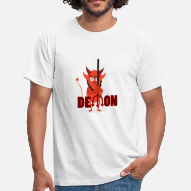 Demonisk Devil demon devil gåva - T-shirt herr