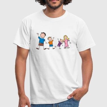 Happy Family - Happy Family - Dear Family - Men's T-Shirt