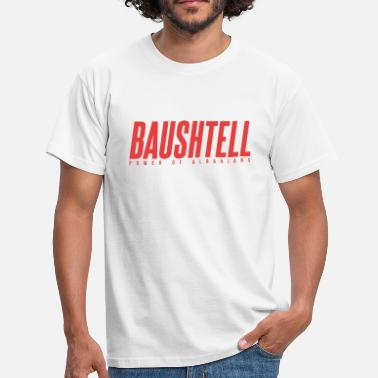 Kosovo Baushtell - Power of Albanians - Männer T-Shirt