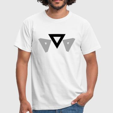 Simplistic Simplistic Triangles - Men's T-Shirt