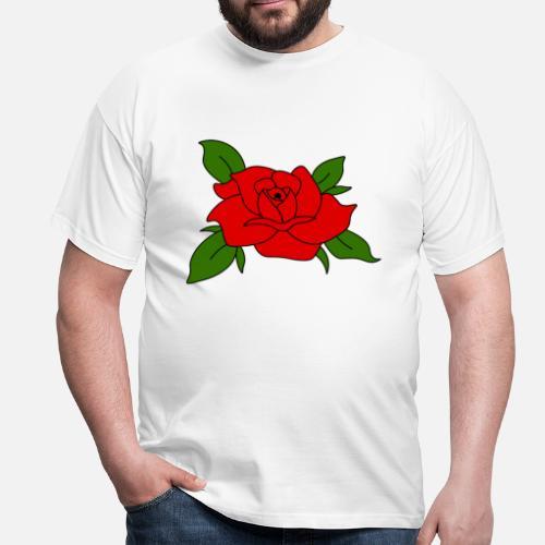 Rose Tumblr Blumen Männer T Shirt Spreadshirt