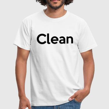 Clean - Men's T-Shirt