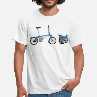 Folding Bike Brompton Bike - Men's T-Shirt