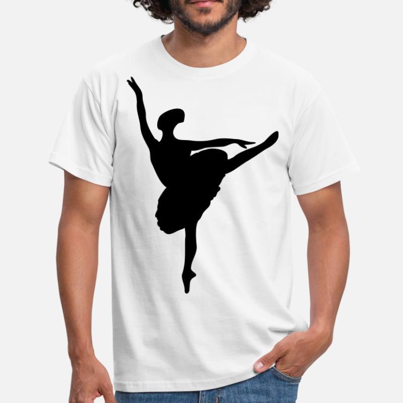 6ef29a519 Shop Silhouette-ballerina T-Shirts online