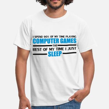 Computer Game Computer Games - Men's T-Shirt