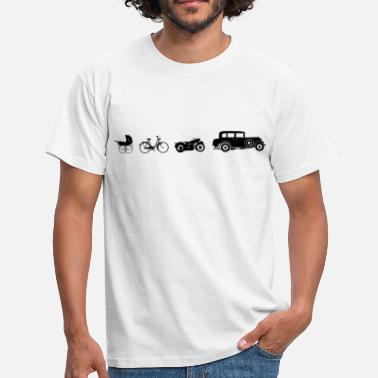 License Plate Oldtimer Evolution - Men's T-Shirt