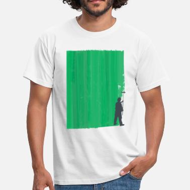 Workman Workman Painting Conceptual Art - Men's T-Shirt