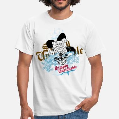 Mens' Shirt SpongeBob 'Simply Unsinkable' - Männer T-Shirt