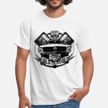 Hiphop Old School Old school - T-shirt Homme