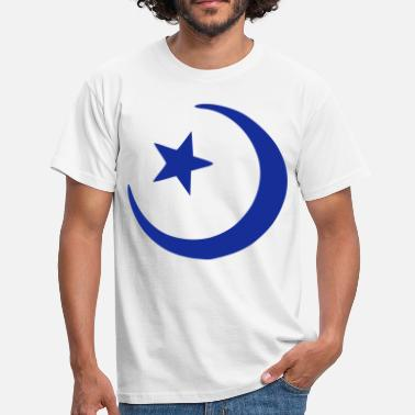 Islam Crescent Moon Star Islam - Crescent moon - Star  - Men's T-Shirt