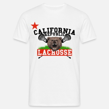 California Republic Lacrosse - Männer T-Shirt