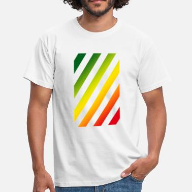 Rasta Rasta Stripes - Männer T-Shirt