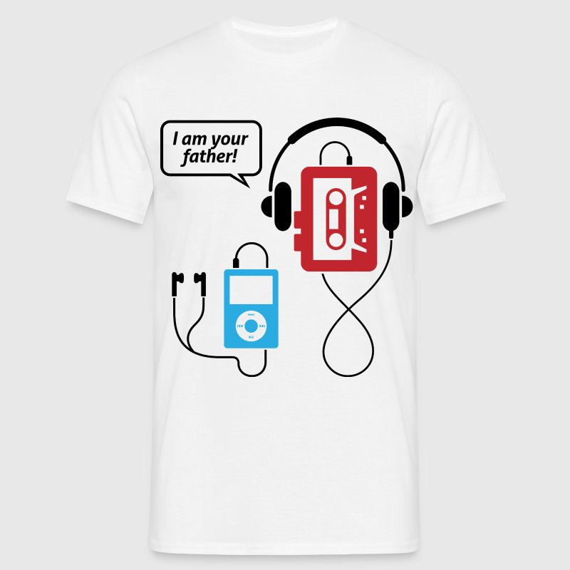 MP3 player, I am your father! - Men's T-Shirt
