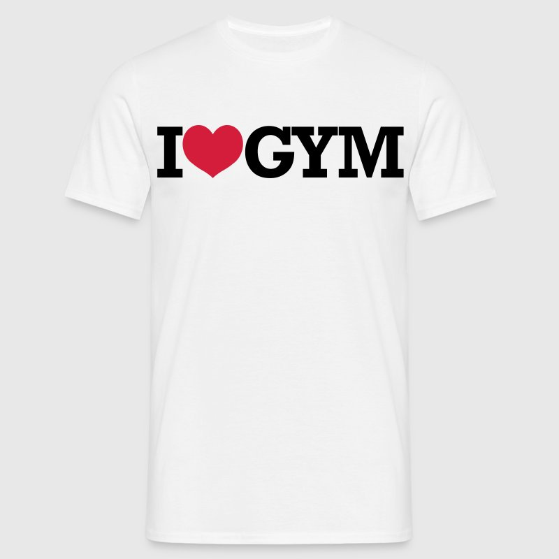 I Love Gym - Crossfit, Bodybuilding, Fitness - T-shirt Homme