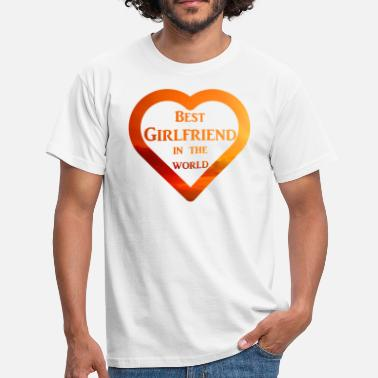 Little Brother Best Girlfriend in the World - Männer T-Shirt