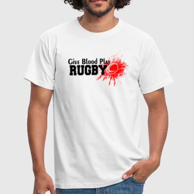Give Blood Play Rugby - Men's T-Shirt
