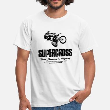 Sx Supercross SX - Moto Cross - Motocross - MX - T-shirt Homme