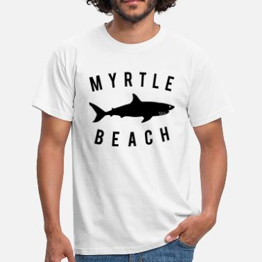 South Beach South Beach Carolina Graphic - T-shirt herr