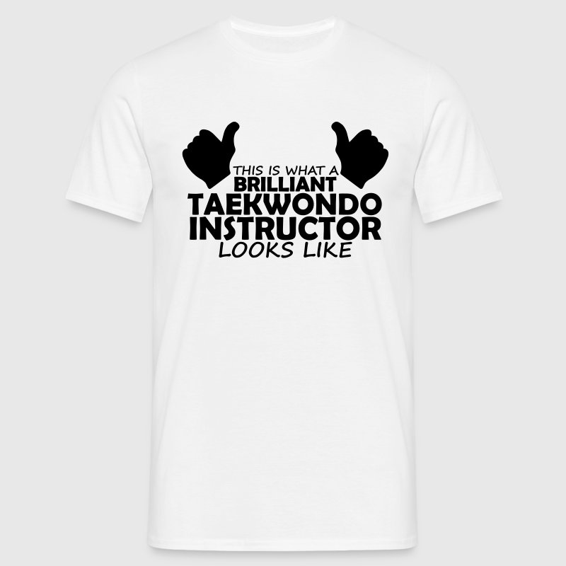 brilliant taekwondo instructor - Men's T-Shirt
