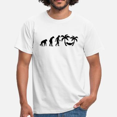 Holiday Evolution - Männer T-Shirt