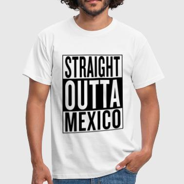 Straight Mexico - Männer T-Shirt